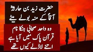 Hazrat Zaid Bin Haris Ka Naam Quran Main Kion Hay l Studo One