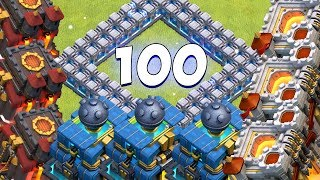 100 SPIELER IM KRIEG! Spannung pur! ☆ Clash of Clans ☆ CoC