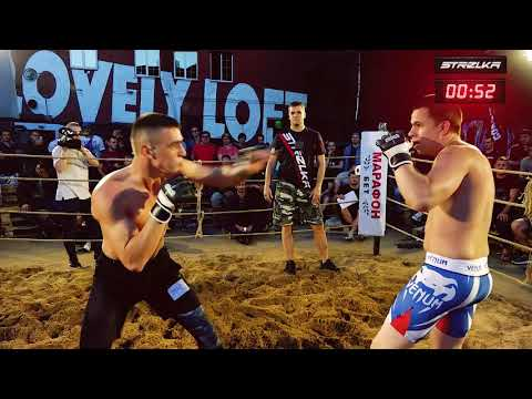 YouTube blogger vs MMA Fighter !! Good Fight !!