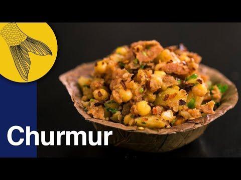 Churmur | Crunchy, Tangy, Savoury Bengali Snack | Calcutta Street Food