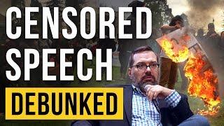 Censored Speech – Debunked