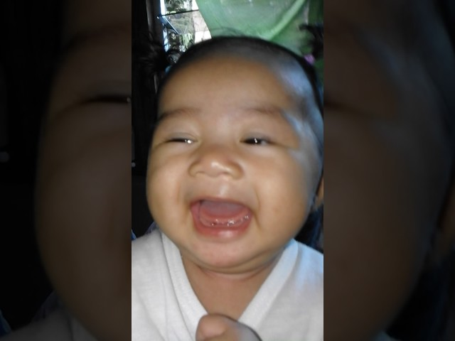 Cute baby Isabelle jane funny moment