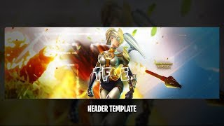 Free Fortnite Battle Royale Banner Template (TFUE)