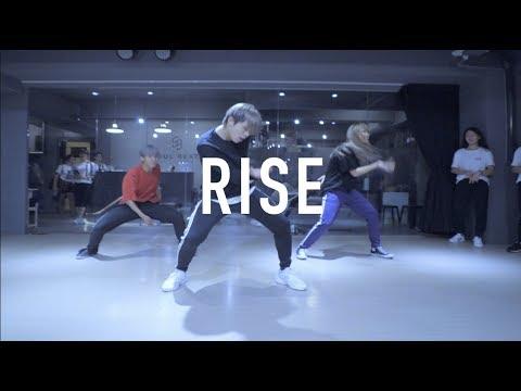 亨利 Henry Lyrical Choreography @ Jonas Blue - Rise / Henry Choeography