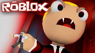 ESCAPES FROM A BOSS IN ITS INFANCY AND EVIL! 🏃 ENGLISH #13 ROBLOX