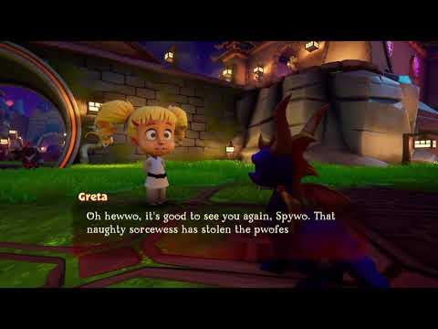 Spyro Reignited Trilogy - Fireworks Factory Glitch
