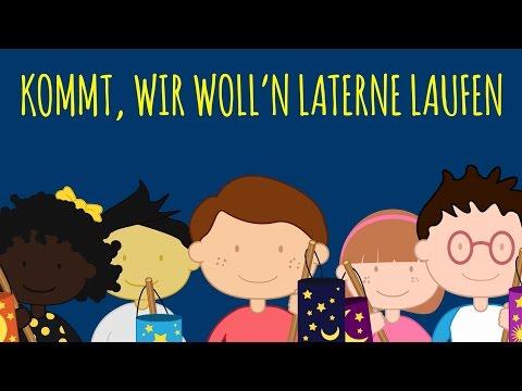 Rolf Zuckowski | Kommt wir wolln Laterne laufen (Lyric Video)