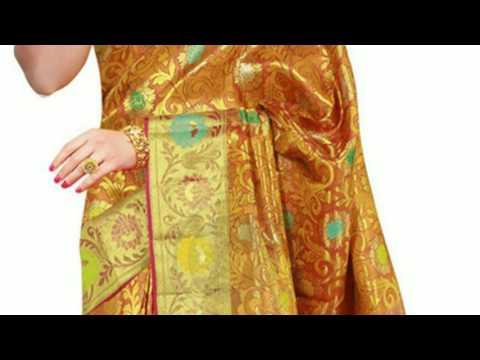 Wedding sarees kerala new trends