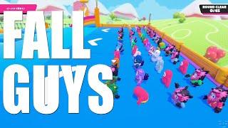 【FALL GUYS】#1 新作バトルロワイアル:60人の頂点は誰だ!?【がち芋】※絶叫に付き音量注意