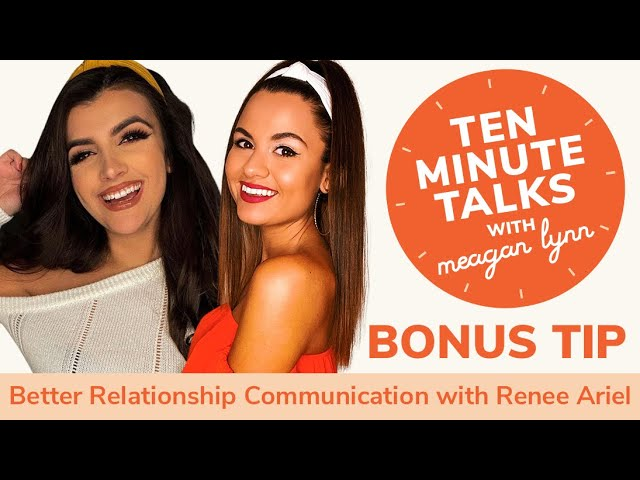 How to Have Better Relationship Communication with Expert Renee Ariel
