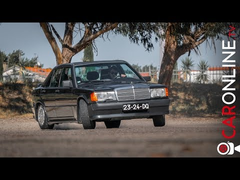 Mercedes-Benz 190e 2.3 16v | AMG do ANTIGAMENTE [Review Portugal]