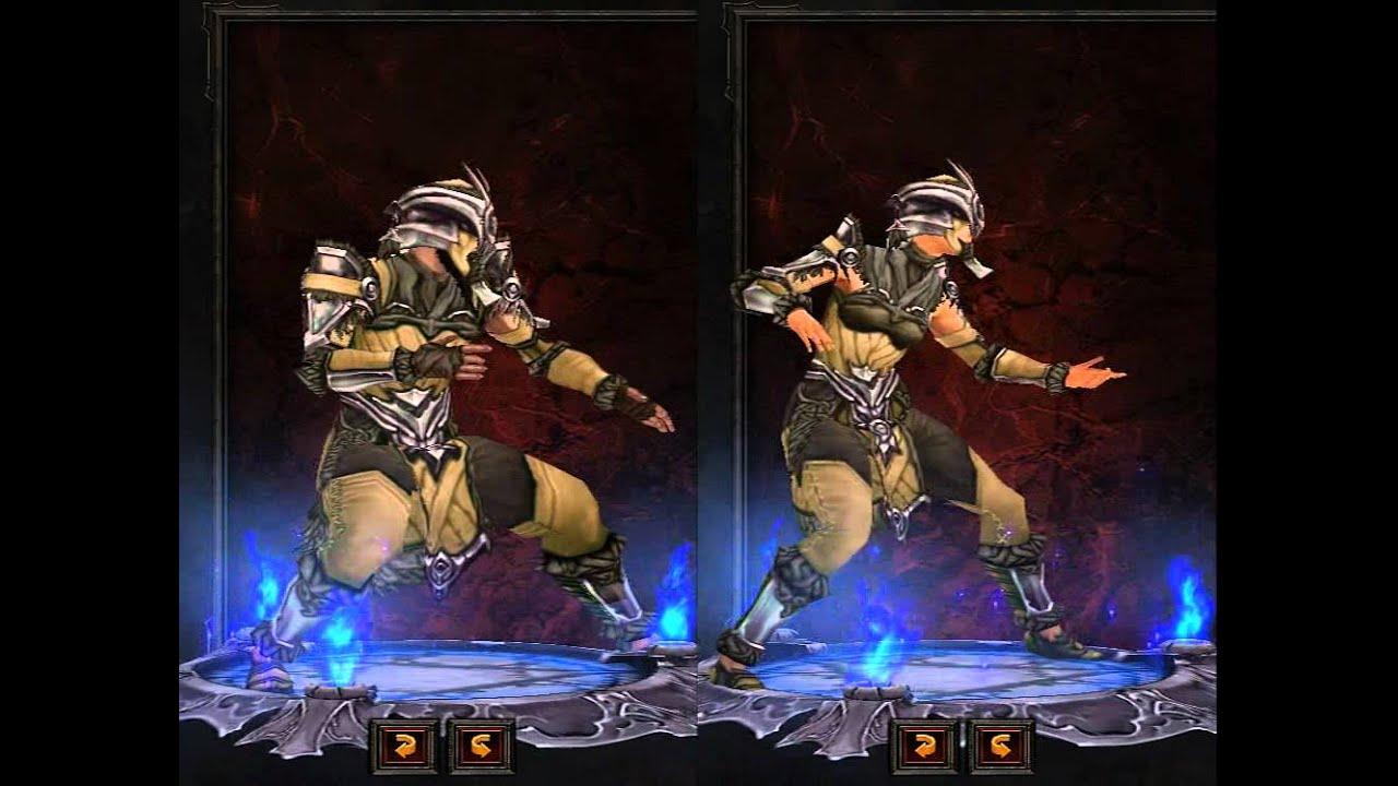 Monk diablo 3 armor