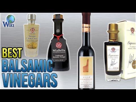 10 Best Balsamic Vinegars 2018