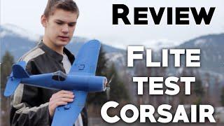 flitetest f4u corsair review