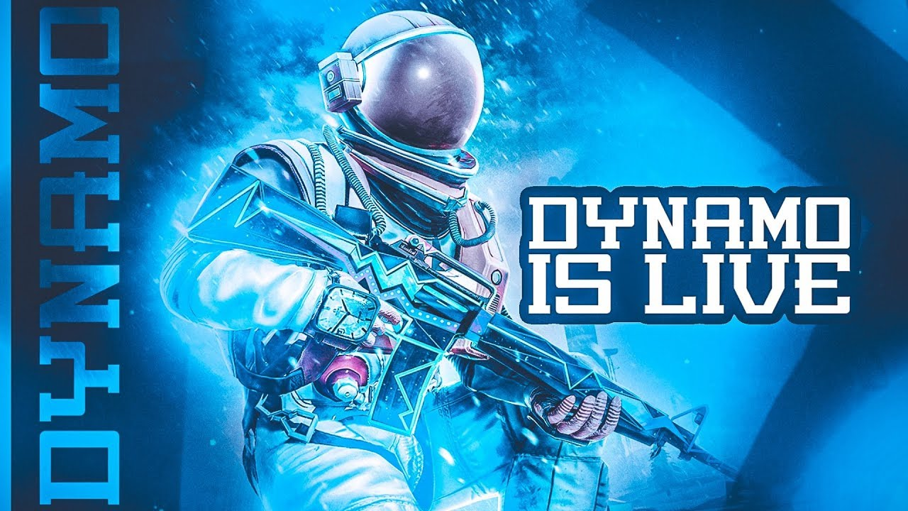 PUBG MOBILE LIVE WITH DYNAMO | HYDRA TEAM IN ACTION