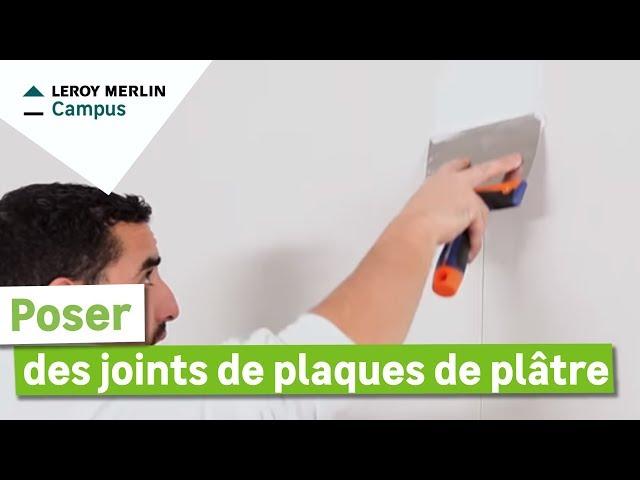 Comment Poser Des Joints De Plaques De Plâtre Youtube