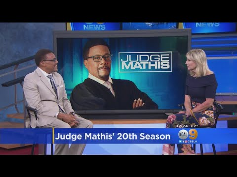 Judge Greg Mathis Talks About The 20th Season Of His Hit Show