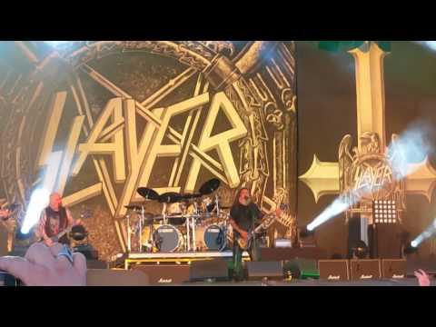 Slayer  angel of Death. Download festival 2017