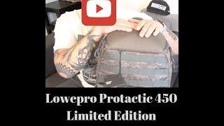 جديد Lowepro Protactic 450 AW طبعة محدودة