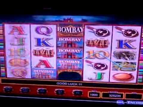 Losing at slot game, BOMBAY.