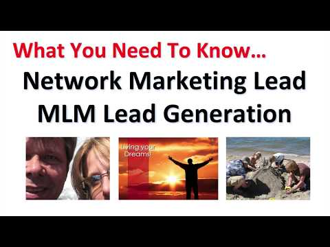 Network Marketing Lead MLM Lead Generation System that Works