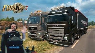 Путешествие на Маёвку в онлайне Euro Truck Simulator 2