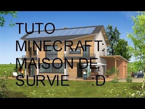 minecraft tuto maison parfaite pour la survie 3 youtube. Black Bedroom Furniture Sets. Home Design Ideas