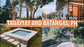 Vlog | Tagaytay and Batangas, Philippines (Discovery Country Suites + Nayomi Sanctuary Resort)