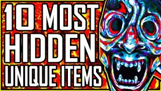 10 Most HIDDEN Unique Items - MORROWIND