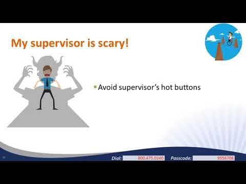 Managing Up: Navigating the VISTA Supervisor Relationship: 10/19/2017