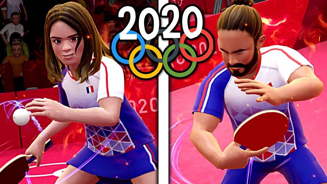 Champions De Tennis De Table Jeux Olympiques De Tokyo 2020