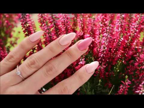 Jesienne, pastelowe - nails