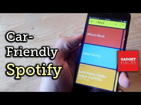 Make Spotify Easier & Safer to Use While You Drive - iOS/iPhone [How-To] Mp3