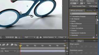 Использование палитры эффектов в Adobe After Effects CS5 (29/49)