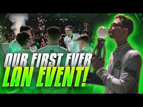 OpTic Gaming's FIRST LAN Tournament! (CWL Vegas)