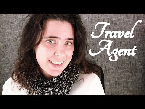 ASMR Bespoke Travel Agent Role Play ☀365 Days of ASMR☀