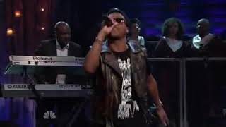 Gambar cover Lupe Fiasco The Show Goes On live on Jimmy Fallon 2011