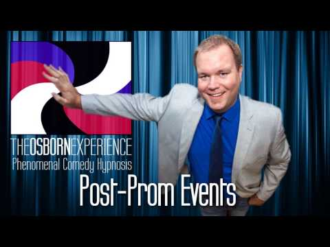 Post-Prom Comedy Hypnotist Promo - The Osborn Experience: Phenomenal Comedy Hypnosis