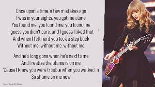 Taylor Swift I Knew You Were Trouble Lyrics Songs Youtube