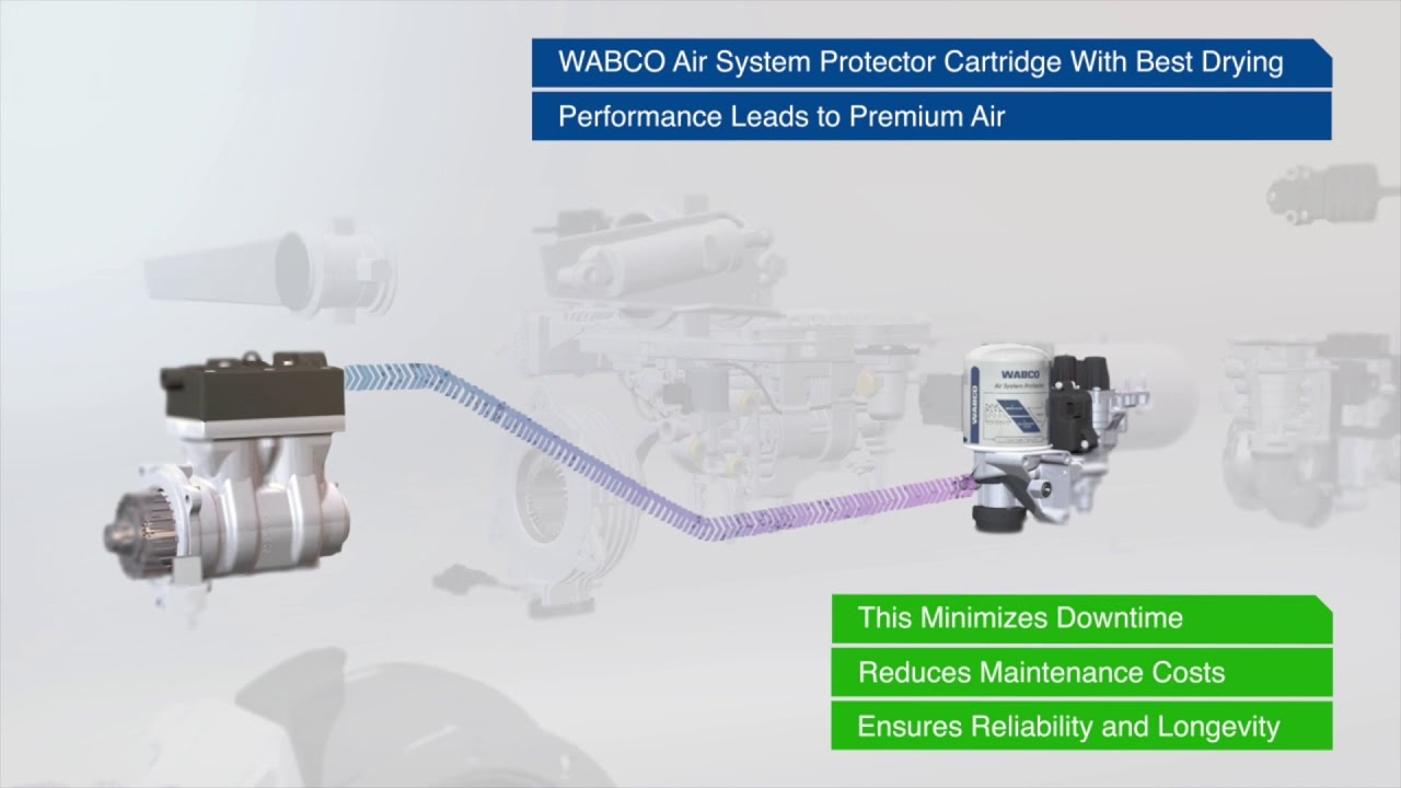 wabco air system protector video english  [ 1280 x 720 Pixel ]