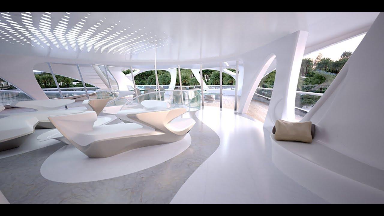 Futuristic Yacht Project By Zaha Hadid Youtube
