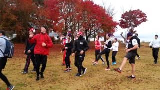 Тренировка сборной в Японии. Часть 1