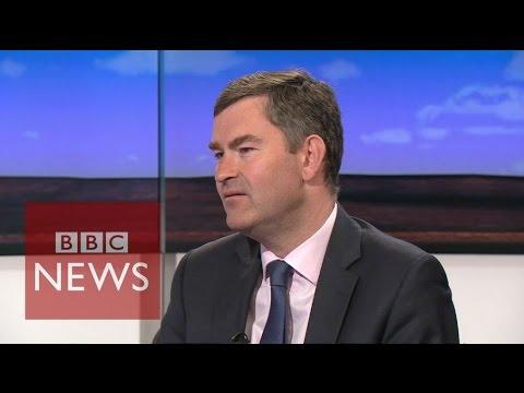 Telegraph business letter 'Stunt':  David Gauke challenged by Andrew Neil - BBC News