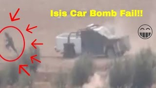 Funny ISIS CAR BOMB FAIL!