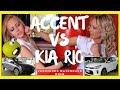 HYUNDAI ACCENT 2018, PIERDE vs KIA RIO PARA MEJOR HATCHBACK? ANTES DE COMPRAR REVISA ESTE VIDEO...