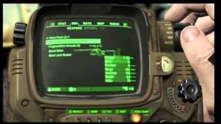 Fallout 4 Pip-Boy Gameplay Walkthrough Part 3 E3 2015 Gameplay Watch