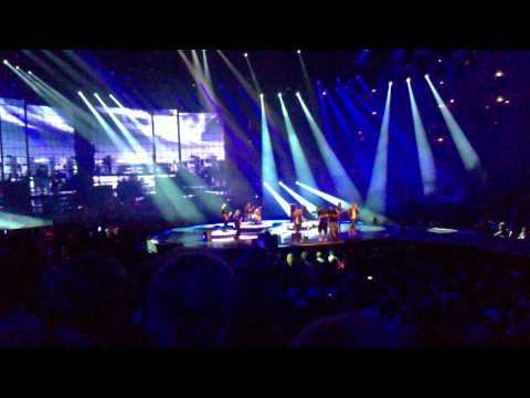 Bosse & Anna Loos - Frankfurt/Oder beim Bundesvision Songcontest am 29.09.2011