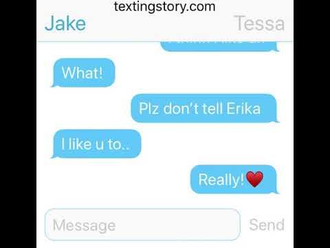 Erika likes Logan! (Textingstory)