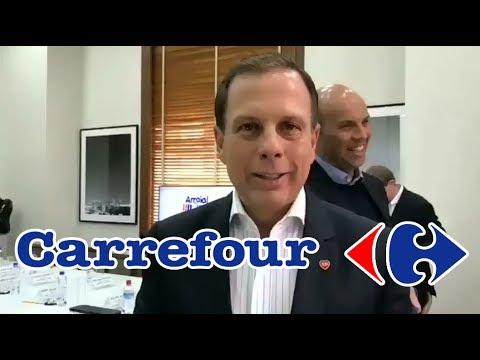 João Doria fecha parceria com o Grupo Carrefour na construção de 3 novas creches para SP