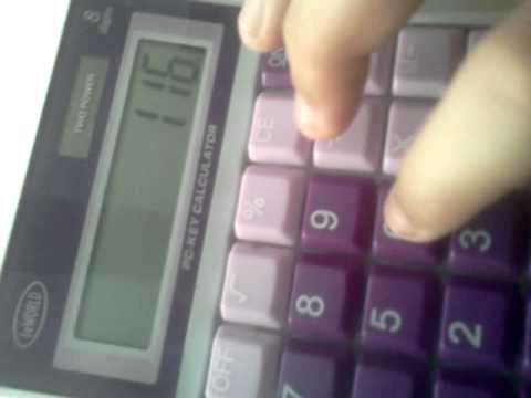 Funny Calculator Trick! Gz prod